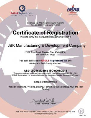145 JBK AS 9100 RE 062020